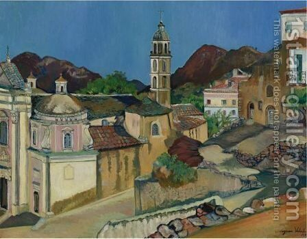 Eglise De Belgodere, Corse by Suzanne Valadon - Reproduction Oil Painting