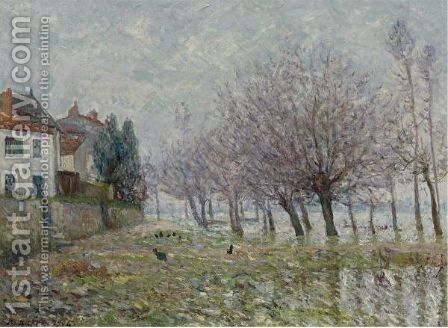 Apres L'Inondation, Haute-Indre, Loire Inferieure by Maxime Maufra - Reproduction Oil Painting