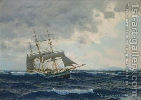 Running With The Tide by Michael Zeno Diemer - Reproduction Oil Painting