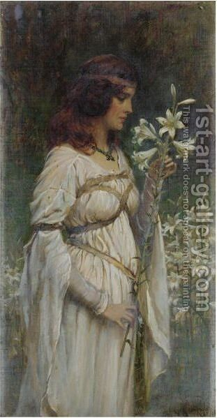 Innocent Beauty by James Doyle Penrose - Reproduction Oil Painting