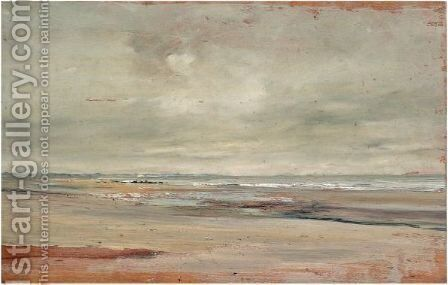 Villers Sur Mer by Ivan Pavlovich Pokhitonov - Reproduction Oil Painting