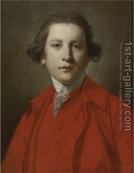 Portrait Of Charles Blair by Sir Joshua Reynolds - Reproduction Oil Painting