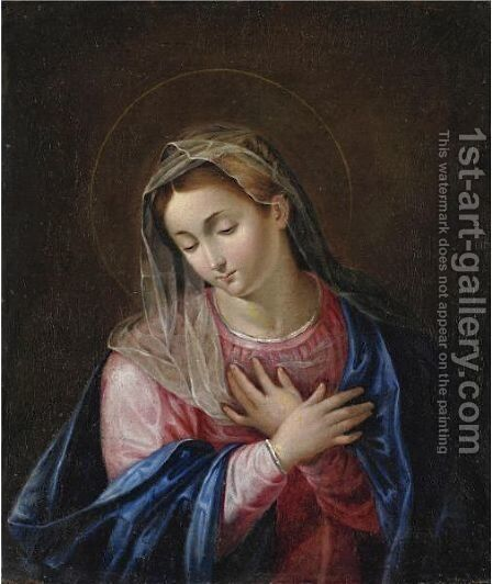 Madonna by (after) Scipione Pulzone - Reproduction Oil Painting