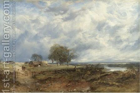 The River Tay by Horatio McCulloch - Reproduction Oil Painting
