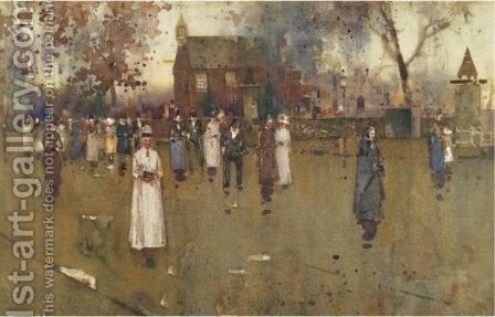 Sunday Morning by James Watterston Herald - Reproduction Oil Painting