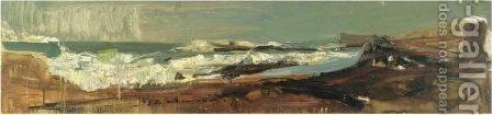Catterline Bay by Joan Eardley - Reproduction Oil Painting