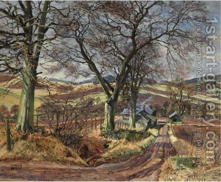 Wellbank, Rossie Priory by James Mcintosh Patrick - Reproduction Oil Painting