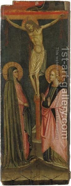 The Crucifixion by Italian School - Reproduction Oil Painting