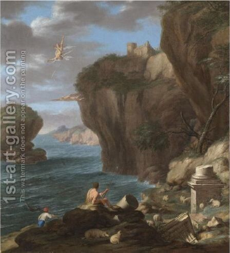 the fall of icarus painting