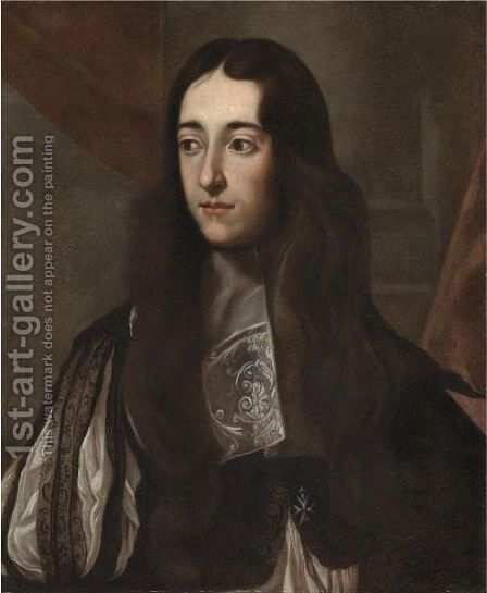 Portrait Of A Nobleman by (after) Jacob Ferdinand Voet - Reproduction Oil Painting