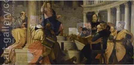 Christ Amongst The Doctors by (after) Paolo Veronese (Caliari) - Reproduction Oil Painting