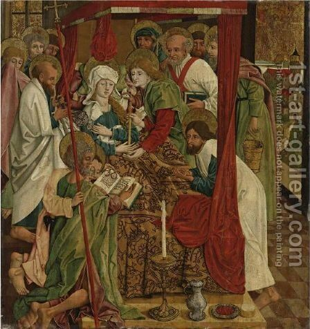 The Death Of The Virgin by (after) Lake Constance - Reproduction Oil Painting