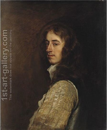 Portrait Of Edward Progers by Sir Peter Lely - Reproduction Oil Painting