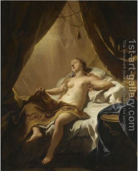 Danae by Jean François de Troy - Reproduction Oil Painting