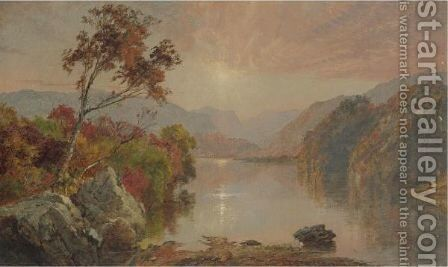 Autumn Landscape 3 by Jasper Francis Cropsey - Reproduction Oil Painting