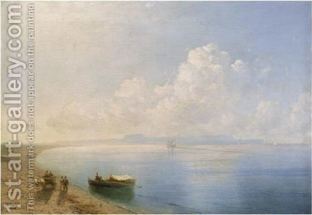 Calm Waters by Ivan Konstantinovich Aivazovsky - Reproduction Oil Painting