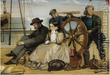 The Escape by (after) Charles Rossiter - Reproduction Oil Painting
