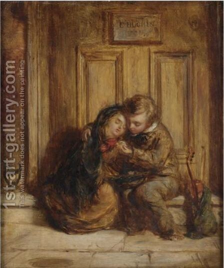 Sympathy by Edward Hughes - Reproduction Oil Painting