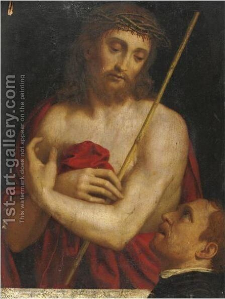 Ecce Homo 2 by (after) Andrea Solario - Reproduction Oil Painting