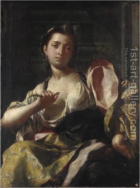 Cleopatra by Jacopo Cestaro - Reproduction Oil Painting