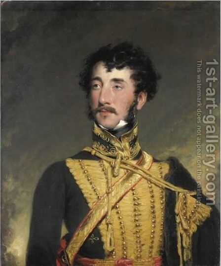 Ritratto Di Militare by (after) Lawrence, Sir Thomas - Reproduction Oil Painting