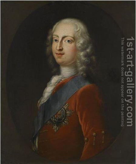 Portrait Of Frederick, Prince Of Wales (1707-1751) by (after) Mercier, Philippe - Reproduction Oil Painting