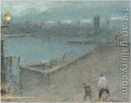 A Collection Of Thirteen Watercolours by Albert Goodwin - Reproduction Oil Painting