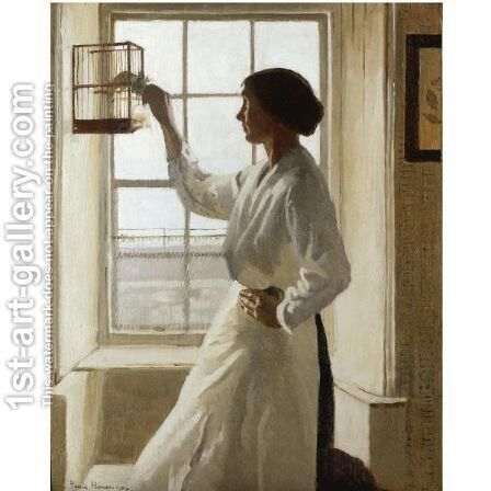 First Light by Harvey Harold - Reproduction Oil Painting