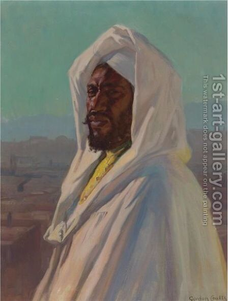 Abdul Kirim, Morocco by Gordon Coutts - Reproduction Oil Painting