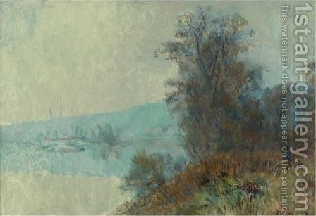 Bords De Seine by Albert Lebourg - Reproduction Oil Painting