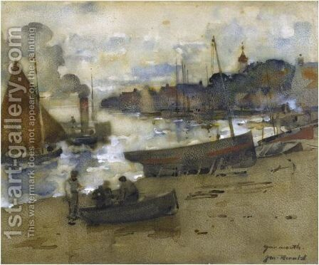 Yarmouth by James Watterston Herald - Reproduction Oil Painting