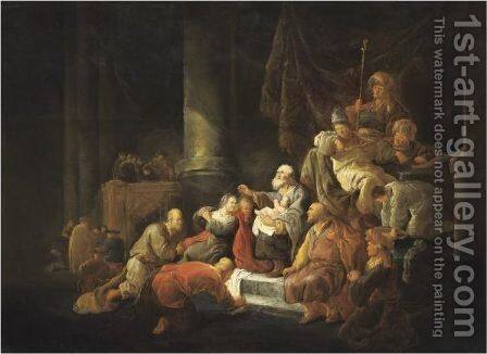 The Presentation Of Christ In The Temple by Benjamin Gerritsz. Cuyp - Reproduction Oil Painting