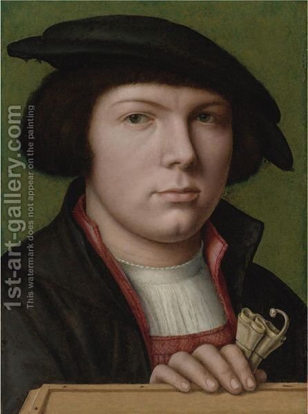 Portrait Of A Young Man 2 by Netherlandish School - Reproduction Oil Painting