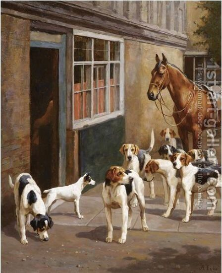 Waiting For Master by Alfred Duke - Reproduction Oil Painting