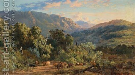 Mansfield by Charles Rolando And J. H. Scheltema - Reproduction Oil Painting