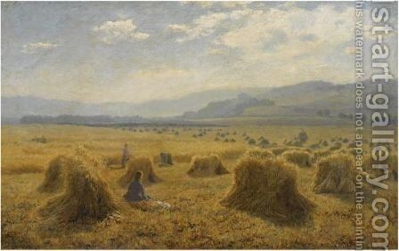 The Haymakers by Duncan Cameron - Reproduction Oil Painting