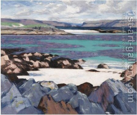 The North End Of Iona by Francis Campbell Boileau Cadell - Reproduction Oil Painting