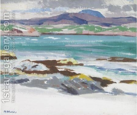 Iona 5 by Francis Campbell Boileau Cadell - Reproduction Oil Painting