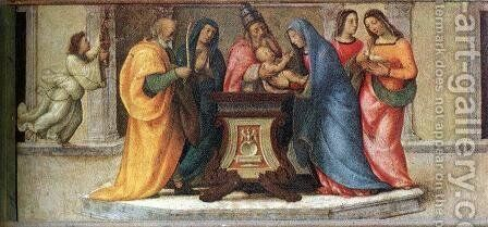 Circumcision by Mariotto Albertinelli - Reproduction Oil Painting