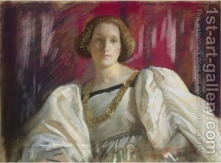 Desdemona by Edwin Austin Abbey - Reproduction Oil Painting