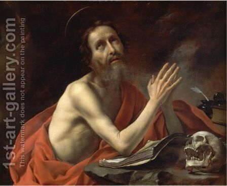 Saint Jerome In Prayer by Carlo Dolci - Reproduction Oil Painting