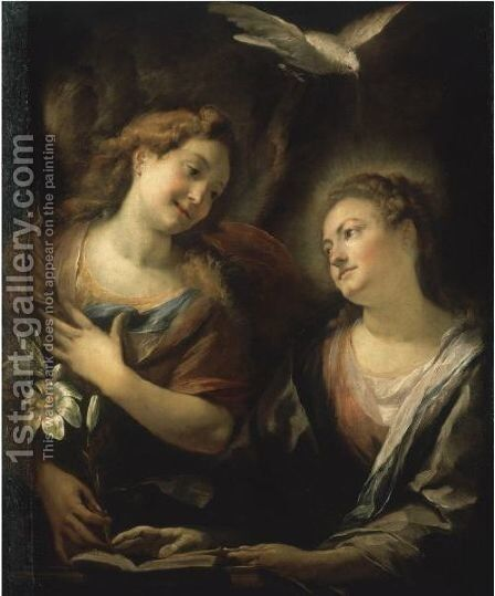 The Annunciation 2 by Giulio Cesare Procaccini - Reproduction Oil Painting