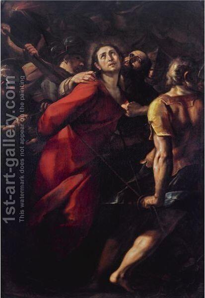 The Capture Of Christ by Giulio Cesare Procaccini - Reproduction Oil Painting