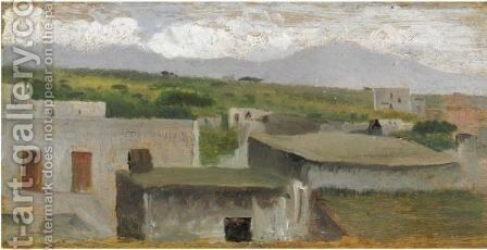Vomero by Giuseppe de Nittis - Reproduction Oil Painting