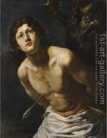 Saint Sebastian by (after) Michelangelo Merisi Da Caravaggio - Reproduction Oil Painting