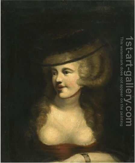 Portrait Of Sophia Rawlins, The Artist's Wife by Johann Henry Fuseli - Reproduction Oil Painting
