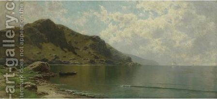 Ebb Tide by Alfred Thompson Bricher - Reproduction Oil Painting