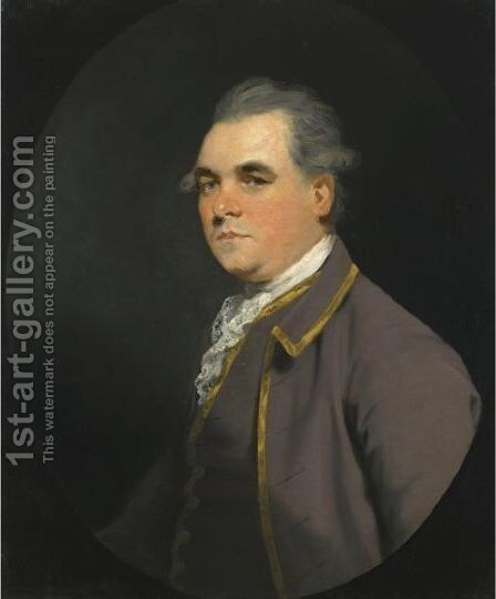 Portrait Of William 6th Baron Craven (1738-1791) by James Northcote, R.A. - Reproduction Oil Painting