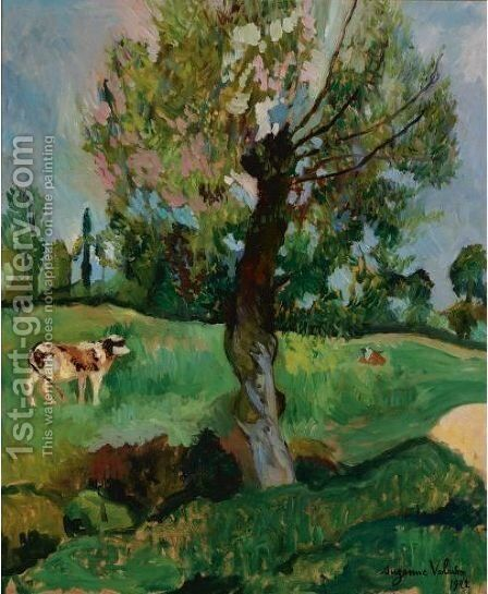 L'Aulne Dans La Prairie by Suzanne Valadon - Reproduction Oil Painting