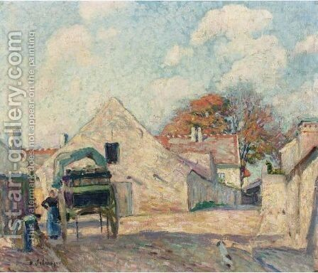 Montevrain by Henri Lebasque - Reproduction Oil Painting